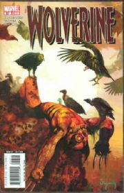 Wolverine #57 Suydam Zombie Cover Marvel comic book